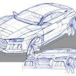 Audi Frankfurt Showcar design