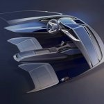 Audi Frankfurt Showcar interior