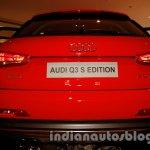 Audi Q3 S Edition bootlid