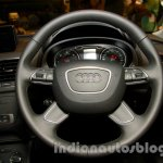 Audi Q3 S Edition steering wheel