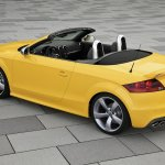 Audi-TTS-Competition-Yellow-rear