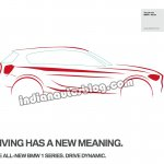 BMW 1 Series India brochure scans