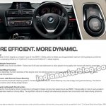 BMW 1 Series India instrument cluster