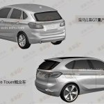 BMW Concept Active Tourer production version rear three quarter