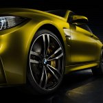 BMW Concept M4 Coupe alloy wheel