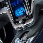 Centre console screen of the Volvo Concept Coupe