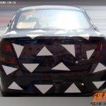 Chevrolet Sail sedan facelift spied rear