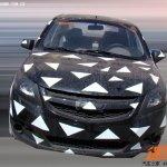 Chevrolet Sail sedan facelift spied