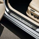 Door sill of the 2013 Skoda Octavia