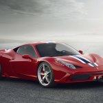 Ferrari 458 Speciale Front three quarter
