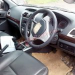 Foton Tunland spied in India steering wheel