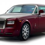 Front of the Rolls Royce Phantom Coupe Ruby Limited Edition