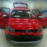 Front of the VW Cross Polo