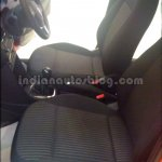 Front seats of the VW Cross Polo