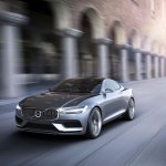 Front three quarter of the Volvo Concept Coupe