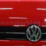 Grill of the VW Cross Polo