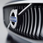 Grille of the Volvo Concept Coupe