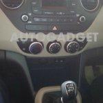 Hyundai Grand i10 spied interiors