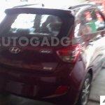 Hyundai Grand i10 spied rear