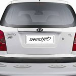 Hyundai Santro Xing Celebration Edition Rear Parking Sensors