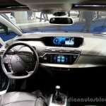 Interior of the 2014 Citroen Grand C4 Picasso