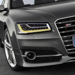 LED Matrix headlights of the 2014 Audi A8