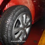 Maruti Wagon R Stingray spied alloy wheels
