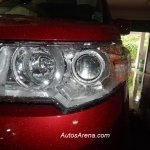 Maruti Wagon R Stingray spied projector headlight