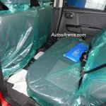 Maruti Wagon R Stingray spied rear seats