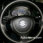 Maruti Wagon R Stingray spied steering wheel