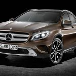 Mercedes GLA brown color