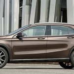 Mercedes GLA side profile