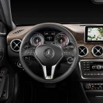 Mercedes GLA steering wheel