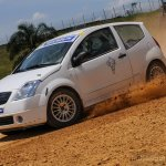 Michelin Pilot Experience Citroen C2 Rally car side