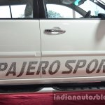 Mitsubishi Pajero Sport Anniversary Edition decal