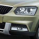 New Skoda Yeti Outdoor headlight