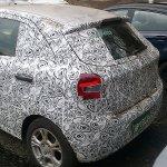 Next generation Ford Figo spied rear