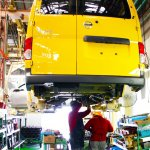 Nissan NV200 Taxi Of Tomorrow Production Commences rear