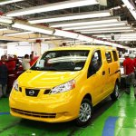 Nissan NV200 Taxi Of Tomorrow Production Commences