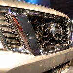 Nissan Terrano headlamps and grille