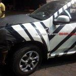 Nissan Terrano spied front fender