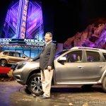 Nissan Terrano with Mr. Kenichiro Yomura