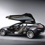 Opel Monza Concept gullwing door