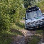 Range Rover Hybrid off road