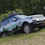 Range Rover Hybrid side