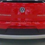 Rear of the VW Cross Polo