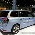 Rear right three quarter of the 2014 Citroen Grand C4 Picasso