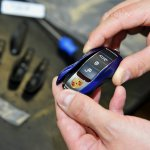 Remote key of the Porsche 911 Carrera 5 Million Car