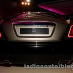 Rolls Royce Wraith launched in India bootlid