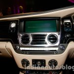 Rolls Royce Wraith launched in India center console 2